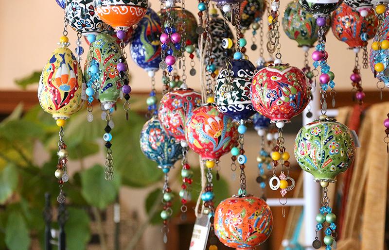 Turkish ceramic ornament