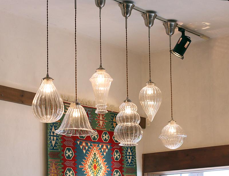 Glass lamp shade