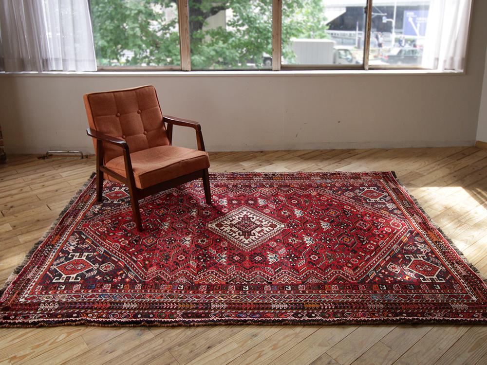Qashkai old rug
