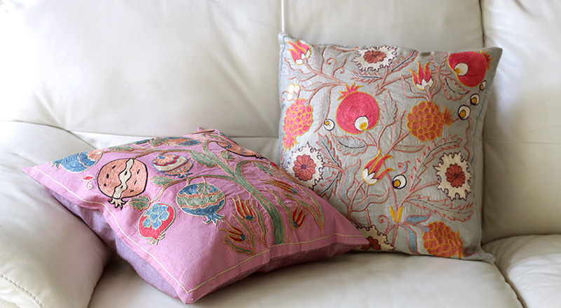 suzani cushion